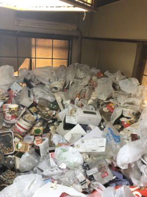 都内某所 ゴミ屋敷の危険性を再認識